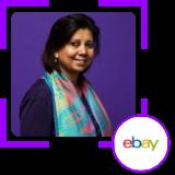 Ishita Majumdar, VP, Data Analytics Platforms, eBay