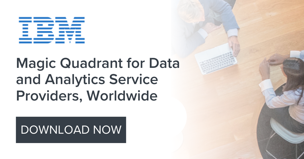 Magic Quadrant for Data and Analytics Service Providers, Worldwide